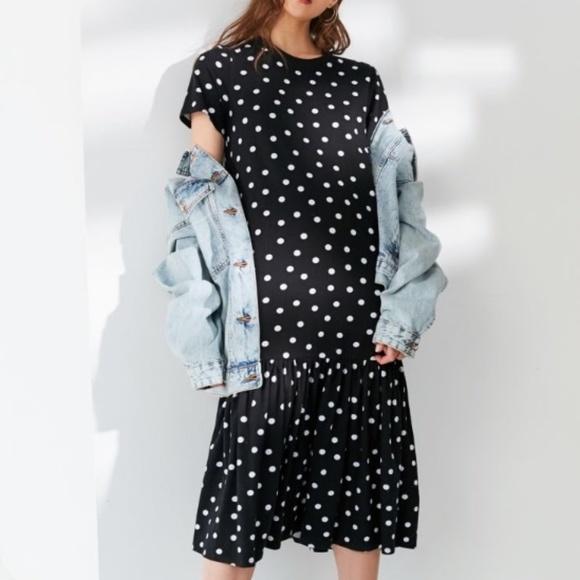 peplum t shirt dress